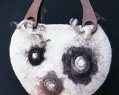 """Handbag """"Panda"""" ."""
