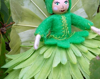 Green/Irish Flower Fairy