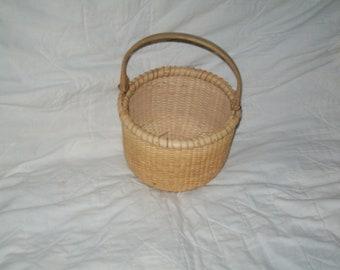Nantucket lighship style basket