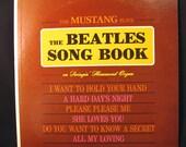 The Beatles Song Book Swingin' Hammond Organ Vintage LP Record