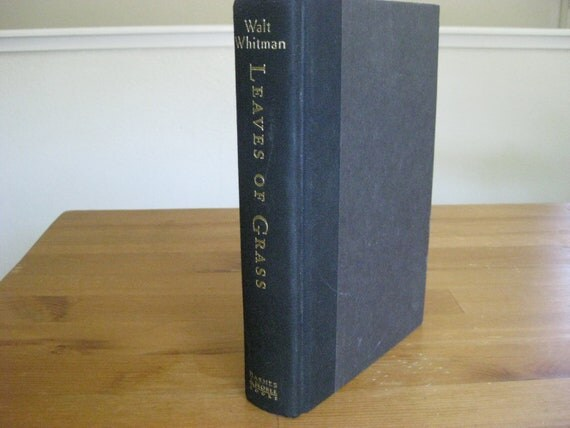American Classic Poetry, Leaves of Grass by Walt Whitman Book of Poetry