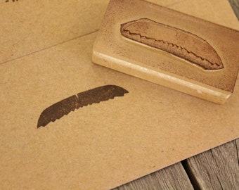 "Burt Reynolds Mustache Stamp ( 2"" x 1"" )"