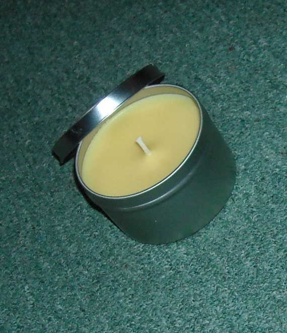 Tuscan Melon and Apricot 8 oz. soy candle