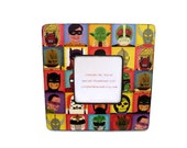 Super Heroes Picture Frame