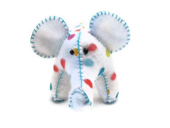 Party Elephant - White