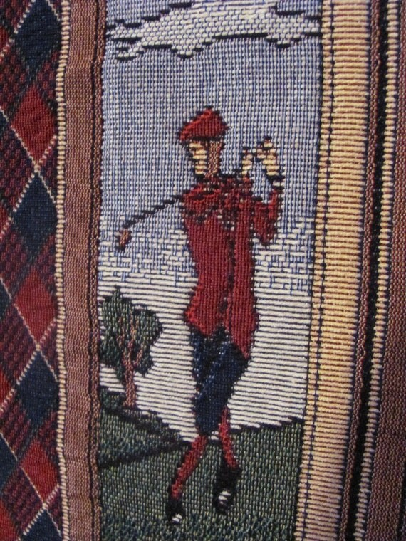 Golfers wallhanging
