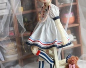 Summer Sailor , Dress for MSD Girl (BJD)