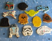 STAR WARS Cookies (1 Dozen)