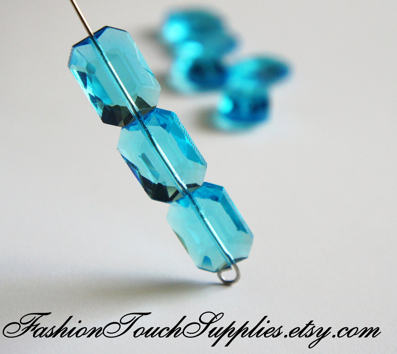 glass bead supplies glass aqua by