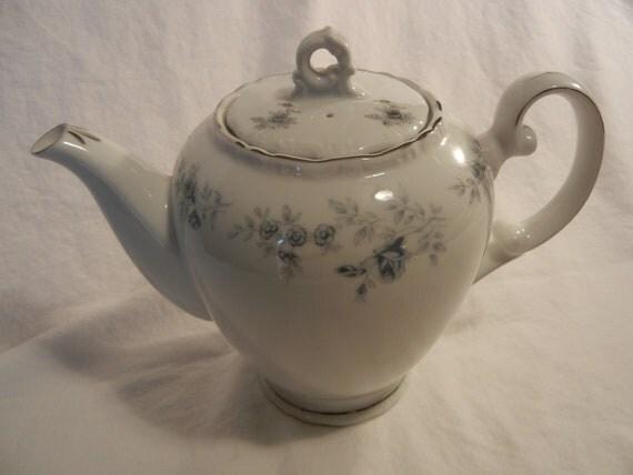 Vintage Japan China Blue Dawn Tea Pot