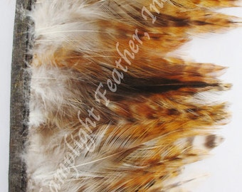 Rooster Hackle Trim, per foot