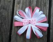 Velcro Bow for baby helmet