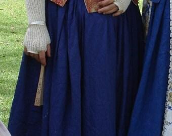 Ladies 18th Century Colonial, Linen Petticoat