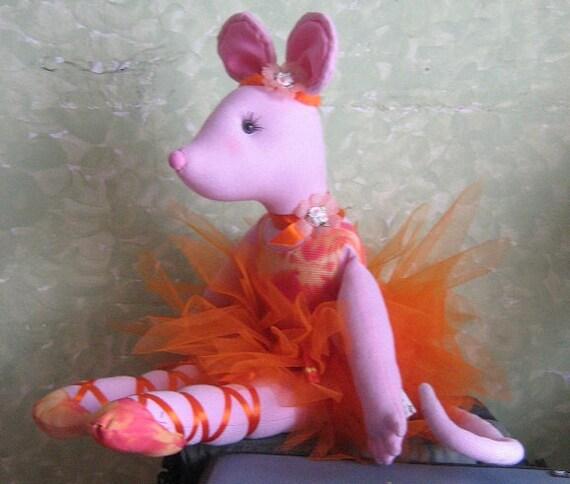 Angelina Ballerina Friend Doll