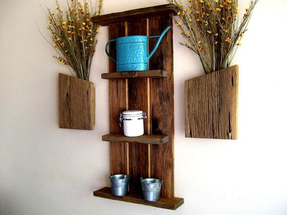 Custom / Reserved Listing for Kimberly Rustic / Reclaimed / Barn Wood Wall Shelf