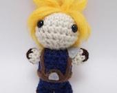 Crochet Mini Cloud Doll