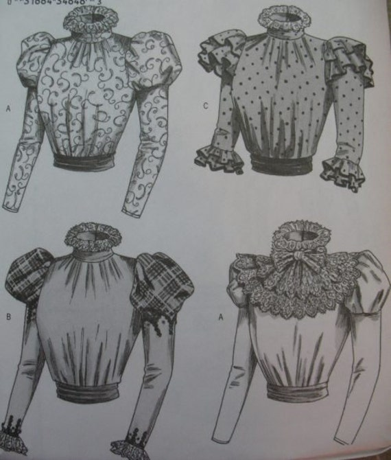 Gibson Girl Blouse Patterns 24