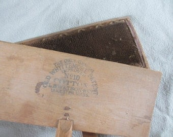 Old Whittemore No 10 Cotton Carders