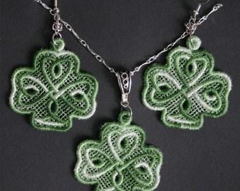 Celtic Shamrock Knot Byzantine Maille Variegated FSL Set