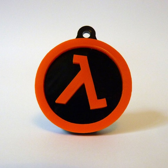 Half Life Lambda Logo Accessory
