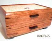 JC-98 One-Drawer Jewelry Chest Bubinga