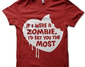 Zombie, Love, Funny - T Shirt