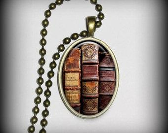 Edgar Allen Poe Pendant- Literary Pendant, Poets Pendant, Necklace Pendant (p112)