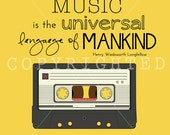 music is universal language print (8x10)