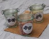 Pink Himalayan bath salts : Lavender