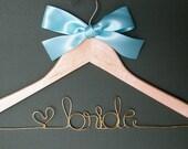 Personalized Wedding Hanger.....Great Gift...Bridesmaid, Shower, Flower Girls