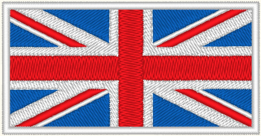 Embroidery pattern stitch your own Union Jack by Jagerstitch