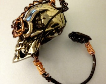 Terminapunk Ring - SciFi meets Steampunk-TEMP PRICE REDUCTION