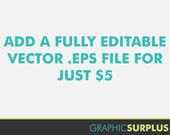 Add a fully editable vector Illustrator .EPS file to your clip art order commercial use graphic design