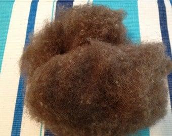 Camel Fiber, 2 ounce, may be better for felting,  Home grown Camel fiber-Not Imported,