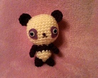 Crochet Amigurumi Kawaii Panda Baby Bear