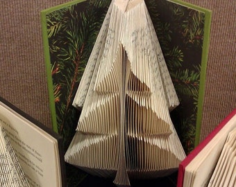 "Folded Book Art ""Tree"" - Made to Order"