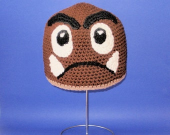 Monster-Mushroom Hat. Beanie. (Any Sizes: Newborn to Adult). Please send the size.