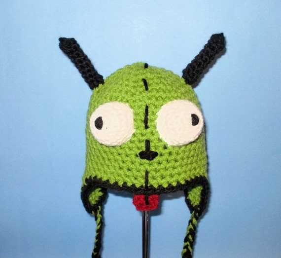 Crochet Pattern Pdf Gir Hat Beanie And Earflap All Sizes Included