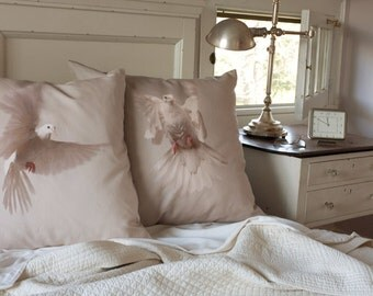 26x26 Pillow Sham Dove II