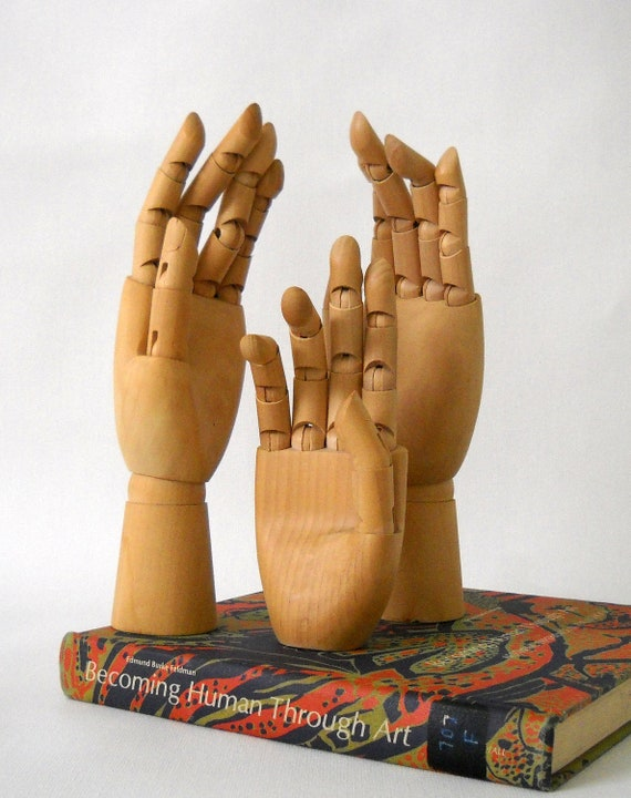 Artist model hands instant collection