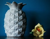 Ceramic pineapple candle holder