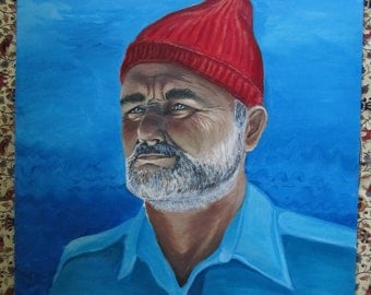 "Portrait of Steve Zissou in ""The Life Aquatic"""