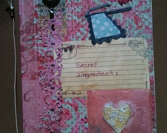 7 x 9 inch paper collage journals for all occasions.