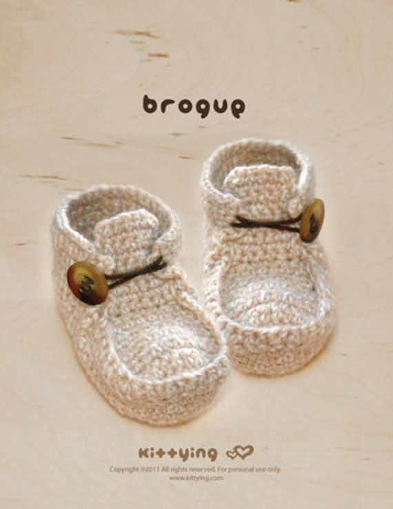CROCHET PATTERN Khaki Brogue - Symbol Diagram (pdf)