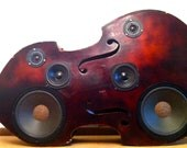 Upright Bass Speaker Box