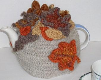 Autumn Leaf Tea Pot cosy