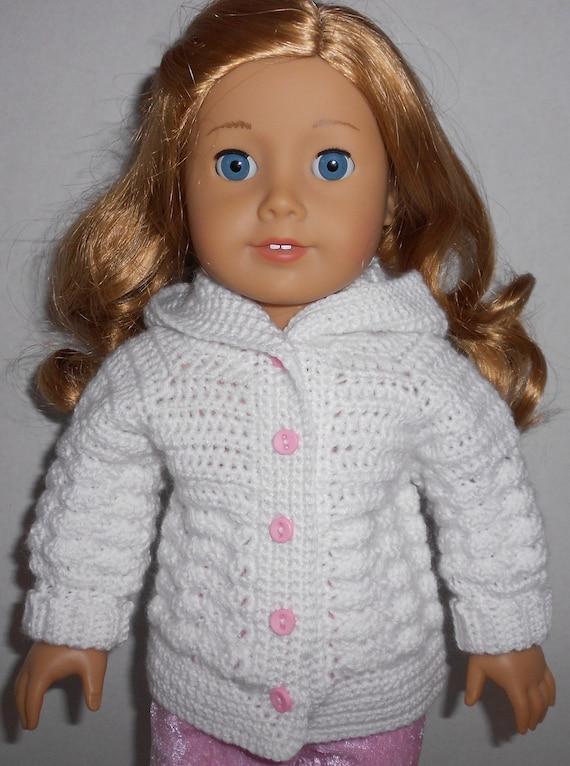 Crochet Pattern Mickey Mouse Doll : CROCHET PATTERN PDF Shell Stitch hooded sweater to fit