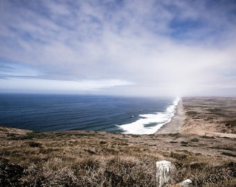 Landscape Photography - Point Reyes Fence, California -  8x12