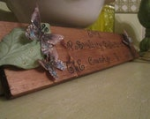 50% Off Tim Holtz Inspired Handmade Wall Plaque