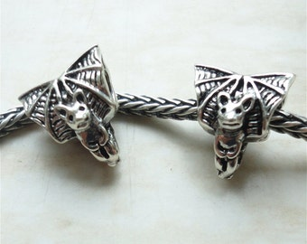 BAT - 925 Sterling Silver BHB Charm Fits All European Style Systems
